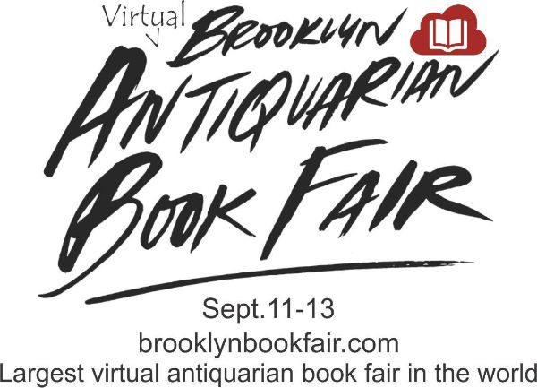 Brooklyn Virtual Antiquarian Book Fair 2020