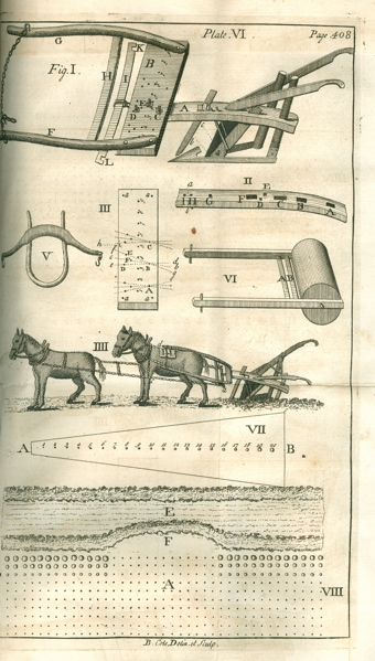 Horse-Hoeing Husbandry: or, an Essay on the Principles of Vegetation and  Tillage  Designed to introduce a new method of culture