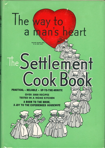 The Settlement Cook Book : Tested recipes from the Milwaukee Public School Kitchen Girls Trades and Technical High School, Authoritative Dietitians and Experienced Housewives. The Settlement, Simon Kander, Mrs., Henry Schoenfeld, Wisc Milwaukee.