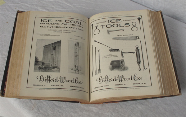 Cold Storage and Ice Trade Journal. Volumes 35-36, (12 issues in all). Trade Journal - Ice.