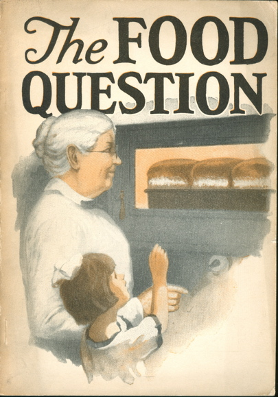 The Food Question. Health and Economy. E. H. Risley M. D., Seventh Day Adventists.