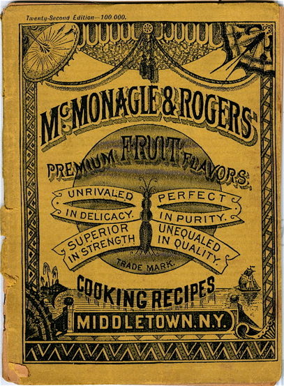 McMonagle & Rogers Select Cooking Recipes. McMonagle, Rogers.