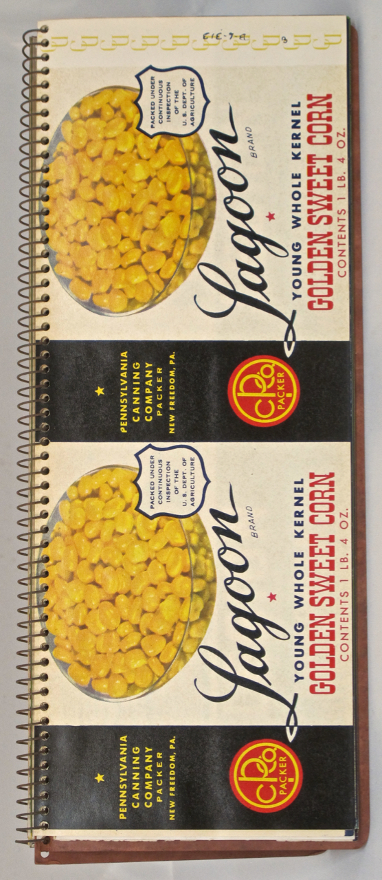 Charles G. Summers Jr., Inc. New Freedom, PA. Label Book. Sample Book – Labels, Inc Charles G. Summers Jr.
