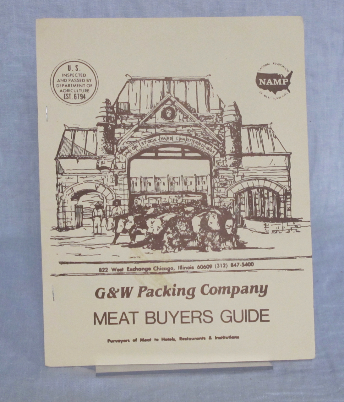 G & W Packing Company Meat Buyers Guide. G, W Packing Company.