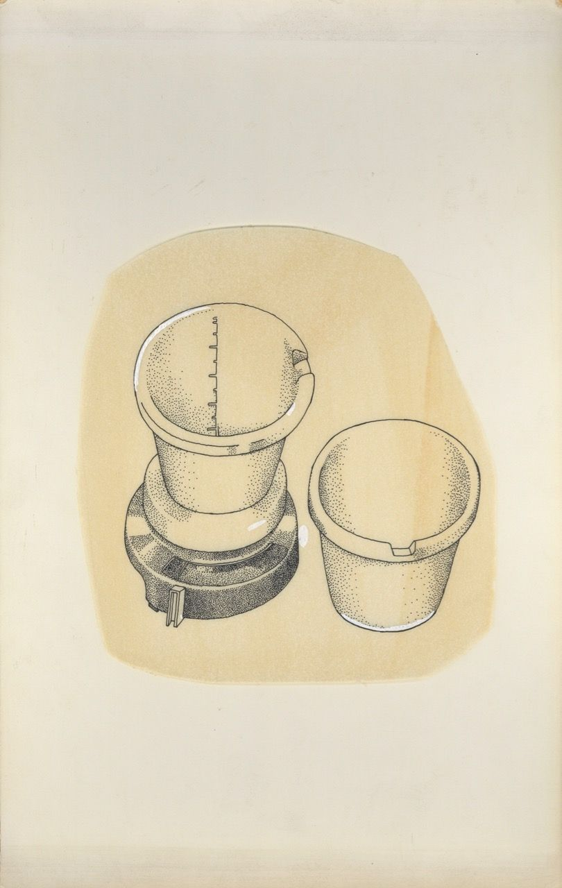 """""""Sketches for bread book Wendy Jones"""" for """"English Bread and Yeast Cookery"""". Elizabeth David, Wendy Jones."""