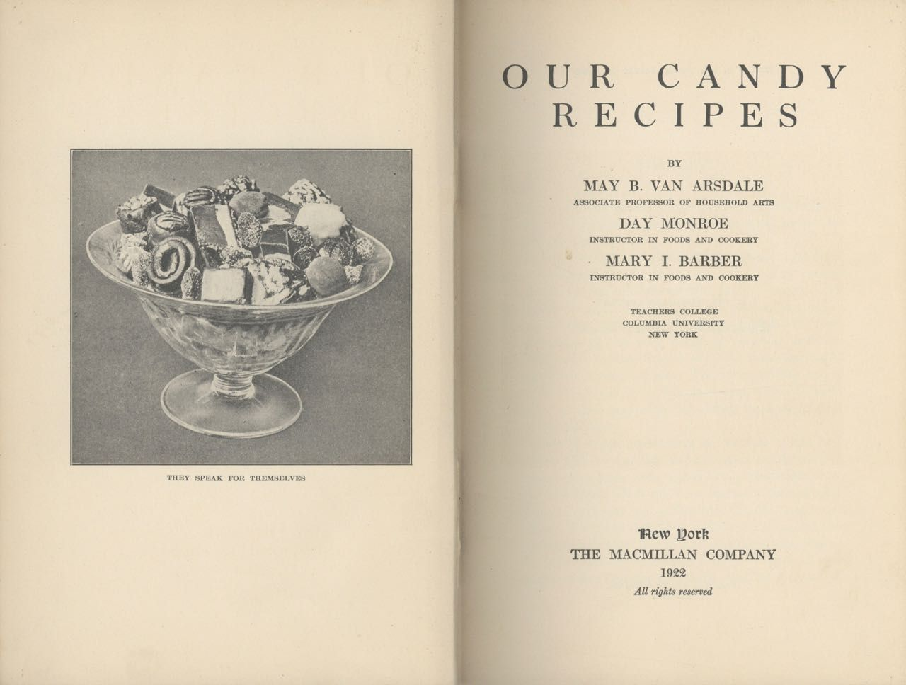 Our Candy Recipes.
