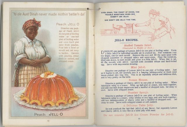 """Jell-O America's Most Famous Dessert. """"Even if you can't cook, you can make a Jell-O Dessert"""" Jell-O: Gennesee Pure Food Co."""