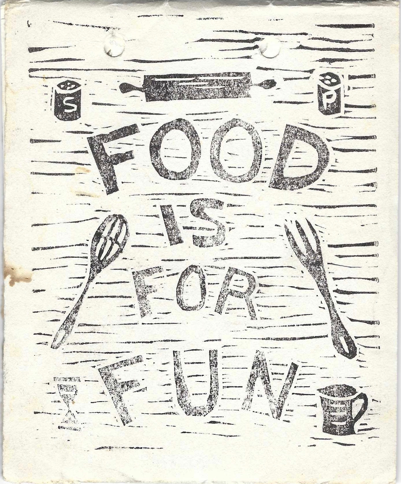 [Food is Fun.] Favorite Recipes from Friends and Members of the First Congregational Church, Marion Massachusetts. Friends First Congregational Church, Members of the, Massachusetts Marion.