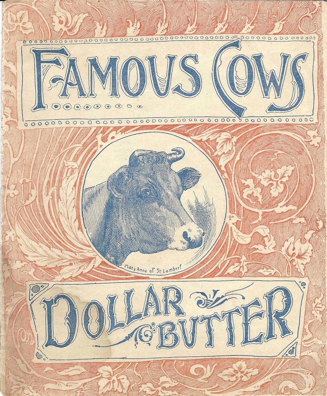 Famous Cows Dollar Butter. Butter Color.