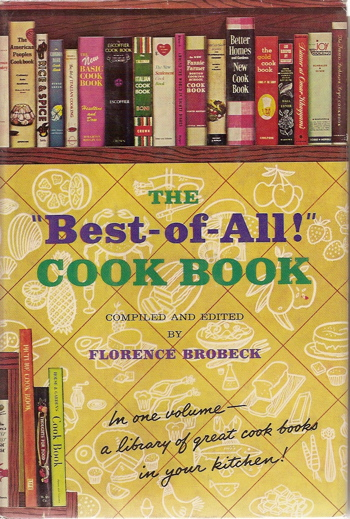 The Best-of-All Cook Book. Florence Brobeck.