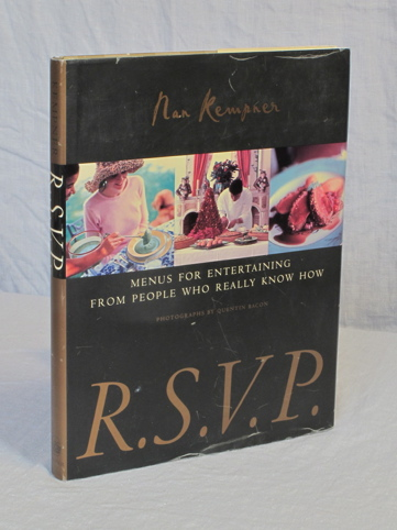 R.S.V.P. Menus for Entertaining from People who Really Know How. Nan Kempner.
