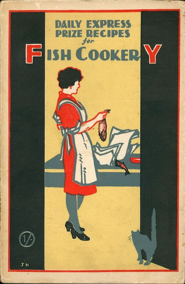 Daily Express Prize Recipes for Fish Cookery. Daily Express