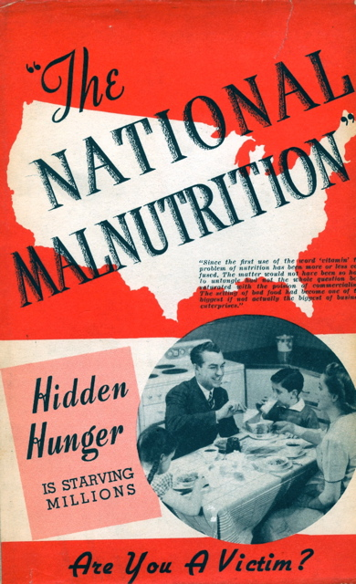 The National Malnutrition. D. T. Quigley.