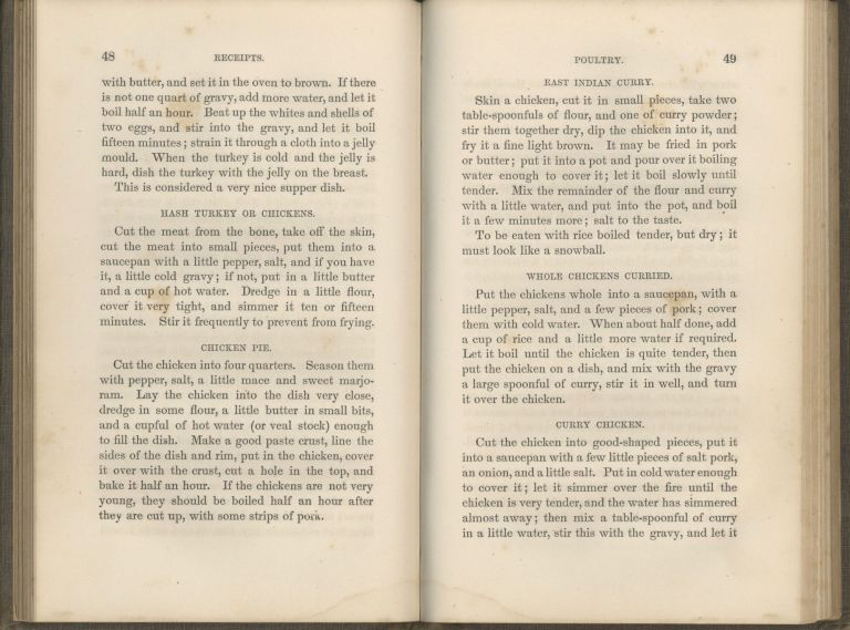 Mrs. Putnam's Receipt Book, and Housekeeper's Assistant. New and Enlarged Edition. Putnam Mrs,...