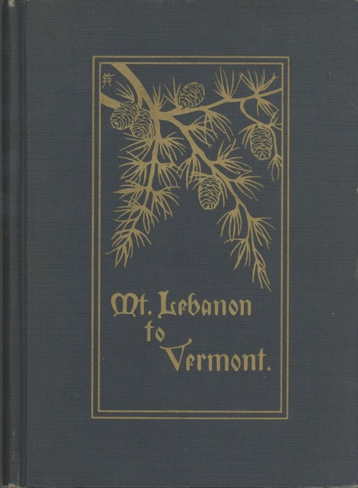 Mt. Lebanon to Vermont; Autobiography of George Haddad : taken down by his daughter Emily Marie...