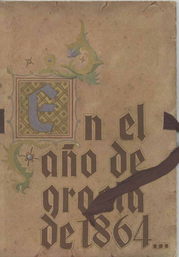 En el ano de graci de 1864 [title from cover]. Trade Catalogue, José de Borja, Barcelona...