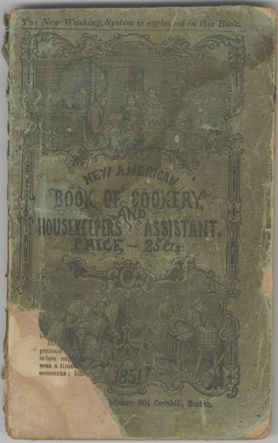 The American Book of Cookery: Containing more than five hundred receipts in every variety of...