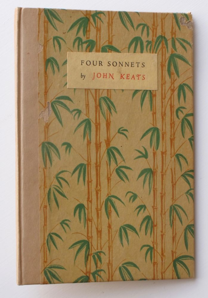 Four Sonnets. White Knight Press, Arthur Grove Day