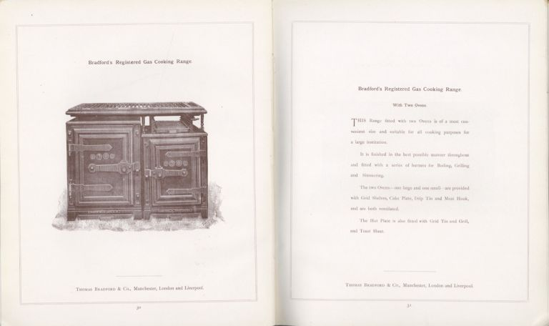 Cooking apparatus: Section VI of Bradford's catalogue for the information of architects, borough...