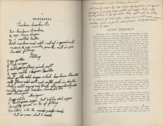 Corona Club Cook Book. [Compiled by members of the Corona Club.]