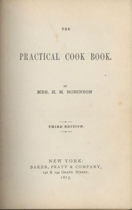 The Practical Cook Book.