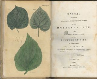 A Manual Containing Information Respecting The Growth Of The Mulberry Tree, With Suitable Directions For The Culture Of Silk. In Three Parts.