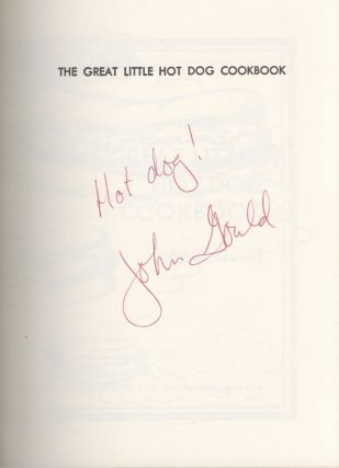 The Great Little Hot Dog Cookbook. Illustrated by Ed Nuckolls.