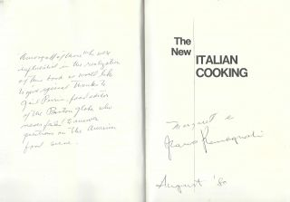 The New Italian Cooking.