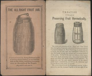[A Treatise on the Art of Preserving Fruits and Vegetables Hermetically].