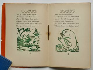 Alas! Poor Dodo! by Lise Fulda; illustrated with linoleum cuts by the author.