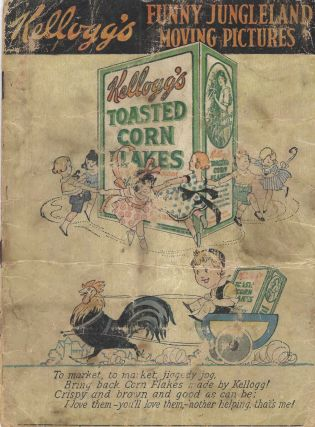 "Kellogg's Funny Jungleland [Jungle Land] Moving-Pictures. [""To Market"" issue]."