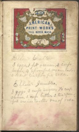 Domestic Cookery, useful receipts, and hints to young housekeepers. Third edition.