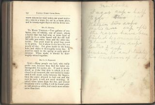 The Kansas Home Cook-Book: Consisting of Recipes Contributed by Ladies of Leavenworth and Other Cities and Towns. Published by the Board of Managers for the Benefit of the Home for the Friendless.